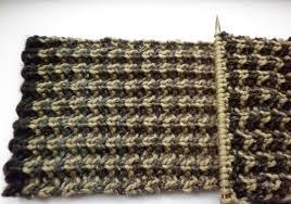 bracken u201d men u0027s scarf u2013 free knitting pattern and colour change