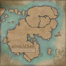 Elder Scrolls Map Image Stros M U0027kai Map Jpg Elder Scrolls Fandom Powered By Wikia