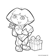 dora explorer sc35c coloring pages printable