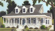 Farmhouse With Wrap Around Porch Plan 6221v Country Home With Wrap Around Porch Front Doors