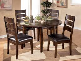 kitchen chairs round oak dining table and chairs with round