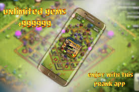 gems for clash of clans prank android apps on google play
