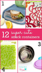 12 super colorful and cute snack containers