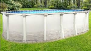 oval above ground pools walmart oval above ground pool liner