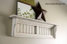 free beadboard wall shelf plans woodwork city free woodworking plans