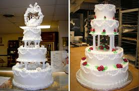 cake pillars pillars for wedding cakes wedding corners