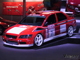 mitsubishi race car picture of mitsubishi lancer race car
