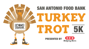 turkey trot san antonio food bank