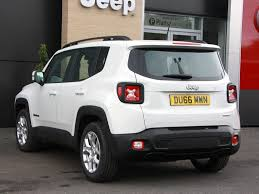 white jeep renegade used 2016 jeep renegade 1 6 multijet ii longitude 5dr start stop