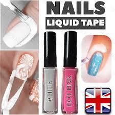 nail art liquid tape peel off base coat polish palisade latex