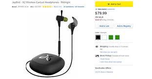 jaybird x2 black friday deal save 100 on the jaybird x2 bluetooth headphones now just