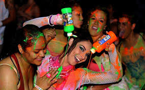 glow paint party dayglow the world s largest paint party sandiego