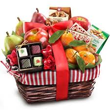 christmas gift baskets golden state fruit rustic treasures christmas