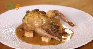 comment cuisiner des cailles cailles farcies au foie gras sauce porto version longue 750