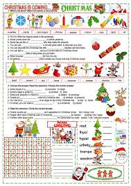 christmas cloze worksheets christmas poems poem and activities on