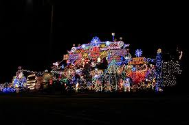 would you want a massive christmas light display on your street