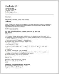 simple resume template u2013 39 free samples examples formatresume