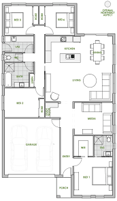 apartments efficient floor plans best green homes australia
