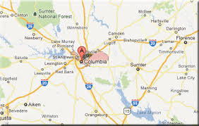 map of columbia south carolina columbia sc best college towns for retirement places of value