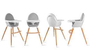 chaise pour bébé chaise haute bébé kinderkraft groupon shopping