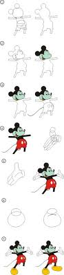 tutorial corel draw menggambar kartun drawing cartoon mickey mouse with corel draw tutorial corel draw