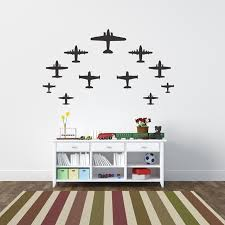 Airplane Kids Room by Airplanes Airplanes Wall Decals And Walls