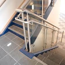 Glass Banisters For Stairs Glass Railings Glass Service Residential Commercial U0026 Custom