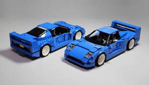 lego f40 lego creator 10248 f40 set preview the lego car