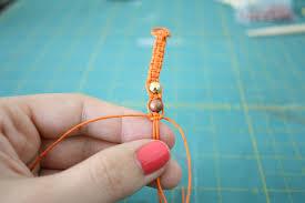 braided bracelet with bead images Diy hemp bracelet tutorial the alison show jpg
