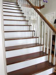 How To Refinish A Banister My Foyer Staircase Makeover Reveal In My Own Style