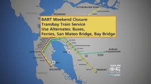 Dublin Bart Map by Bart Closing Transbay Tube During This Weekend For Repairs Youtube