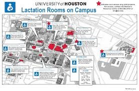 Unf Campus Map Mother U0027s Room And Lactation Information University Of Houston