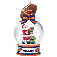 chicago bears snow globe ornaments your 1st one is free the