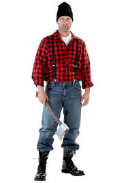 Plus Size Halloween Shirts by Plus Size Lumberjack Costume