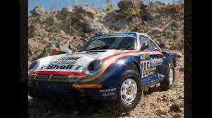 subaru dakar tamiya 1 24 porsche 959 rally paris dakar high rider youtube
