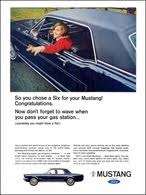 ford mustang ads 66 ford mustang cars hobbydb