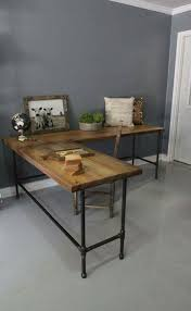wood and metal office desk cheap living room charming fresh on