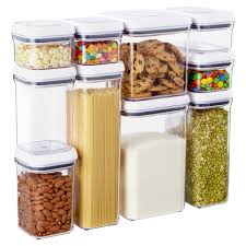 kitchen storage canister oxo grips 10 pop canister set the container store