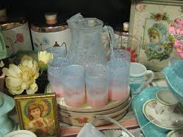 Vintage Kitchen Collectibles by C Dianne Zweig Kitsch U0027n Stuff Pink And Turquoise Kitchen