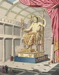 Seeking Zeus Statue Of Zeus At Olympia
