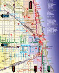 chicago map streets lthforum chicago chow map