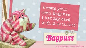 create a birthday card with bagpuss youtube