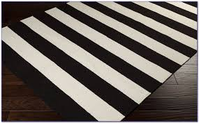 rug black and white striped rug 8 10 wuqiang co