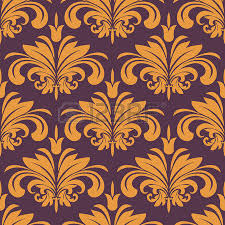 floral seamless pattern design in victorian style for luxury