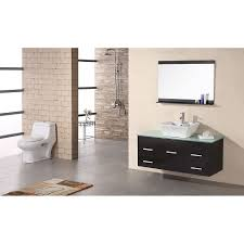 design element dec1100a 48 madrid 48 single sink wall mount vanity