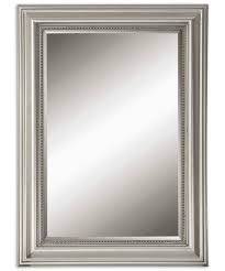 Uttermost Mirror Uttermost 12005b Stuart Silver Wall Mirror Capitol Lighting 1