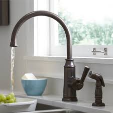 high arc kitchen faucets the fixture gallery american standard portsmouth high arc