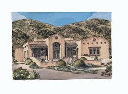 dream house plans southwestern home design houseplansblog