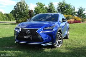 suv lexus lexus nx first drive more than just a face