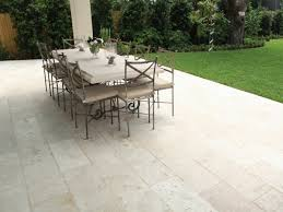 Travertine Patio Table Floor Outdoor Travertine Wrought Iron Dining Room